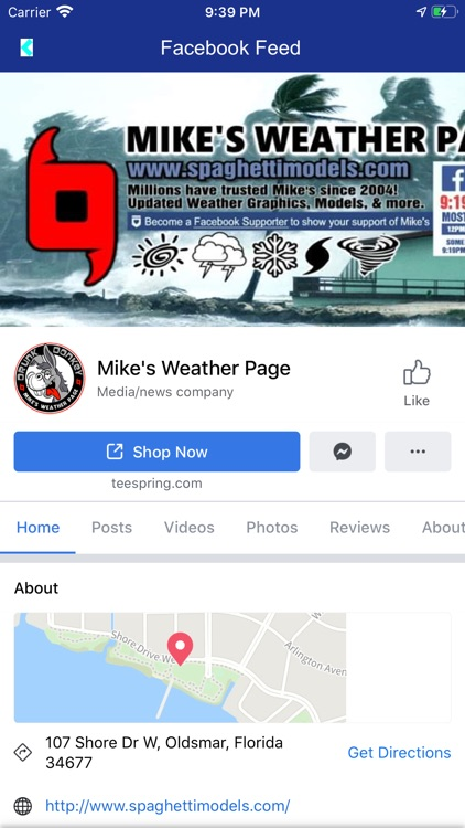 Mike's Weather Page