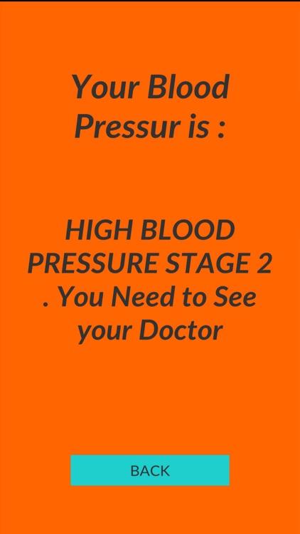 Blood Pressure Calculator 2019 screenshot-3