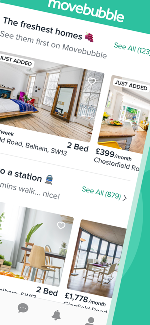 Movebubble - Homes to Rent on the App Store