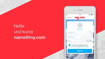 Email Programm – myMailScreenshot von 4