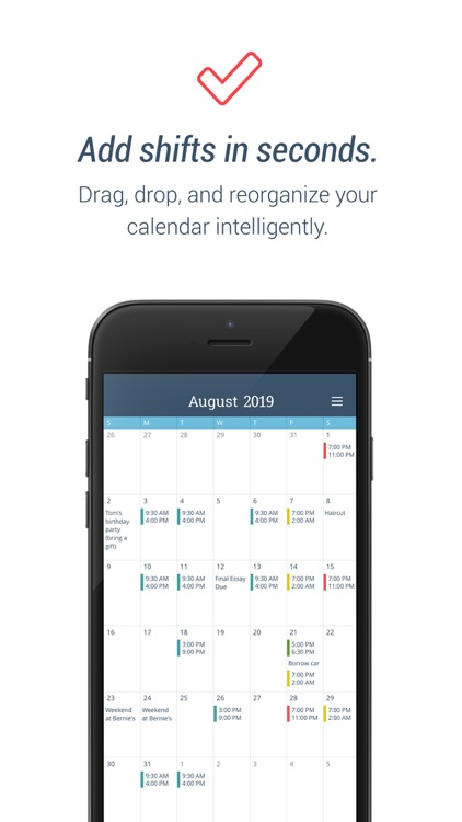 WorkTime: Work Shift Calendar
