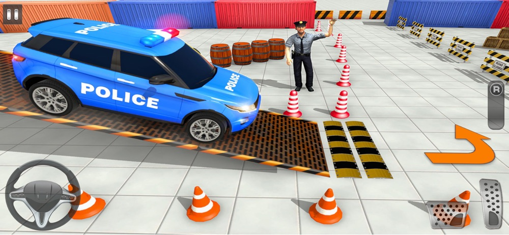 Advance Police Parking Game hack tool