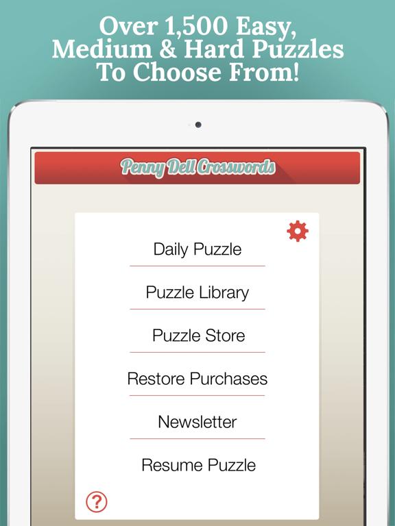 Penny Dell Daily Crosswordのおすすめ画像5