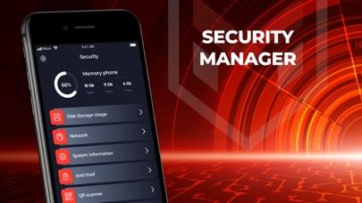 Security Manager: data & docs Screenshot