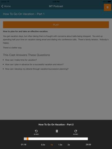 Screenshot of Manager Tools