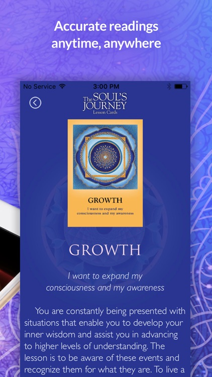The Soul's Journey Lesson Card screenshot-4