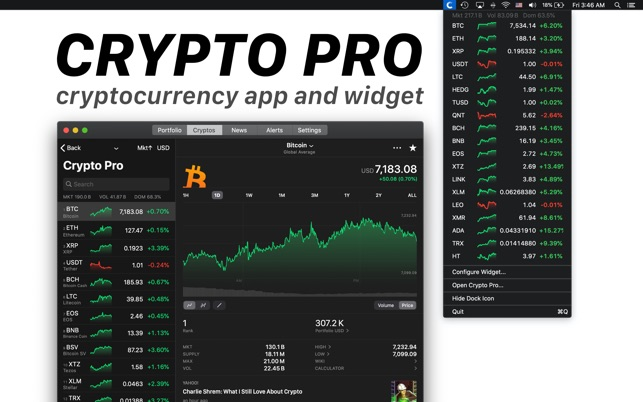best apps for watching cryptocurrency