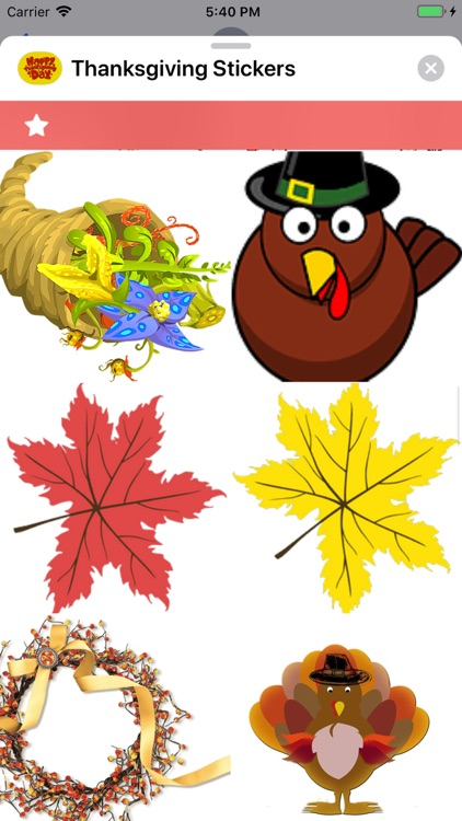 Thanksgiving Stickers screenshot-4