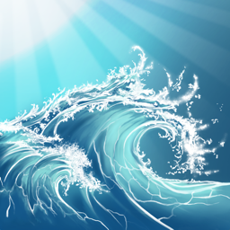 Ícone do app Sunny Sea Ocean Sleep Sounds