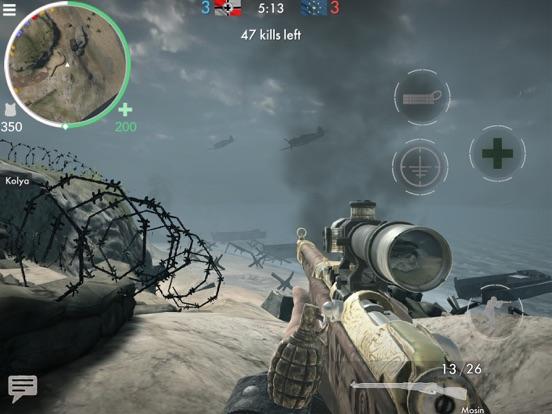 ワールドウォーヒーローズ:FPS戦争ゲームのおすすめ画像1