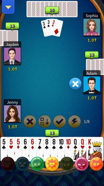 Big2 - KK Big 2 (No Ads) screenshot-4