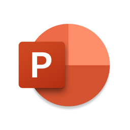Ícone do app Microsoft PowerPoint