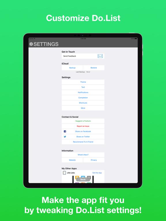 Do.List: To Do List Organizer screenshot 17