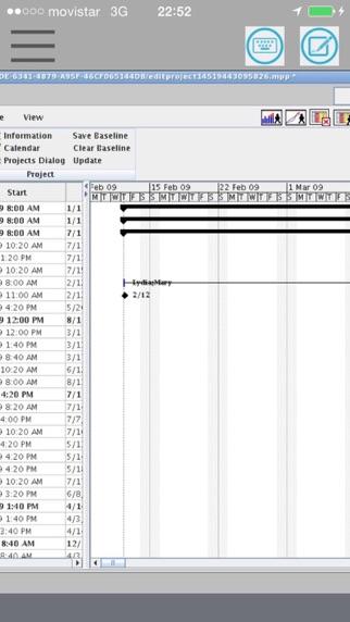XPlanner ProjektmanagementScreenshot von 2