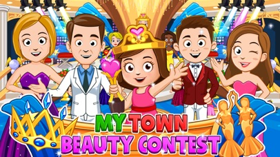 My Town : Beauty Contest Party screenshot 1