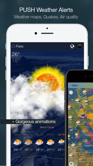 eWeather HD:Väder,Väderprognos på PC