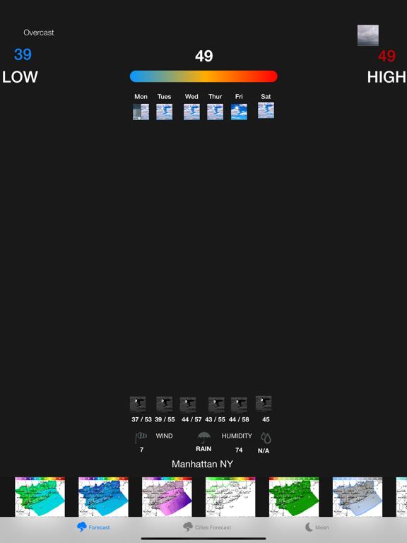 Instant NOAA Weather Forecast screenshot 6