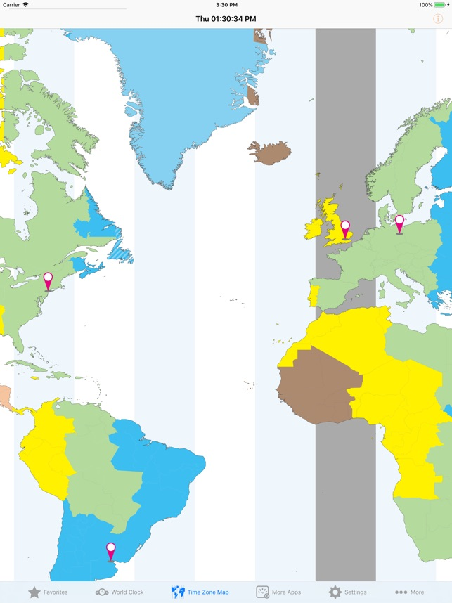 World Clock – Time Zones on the App Store