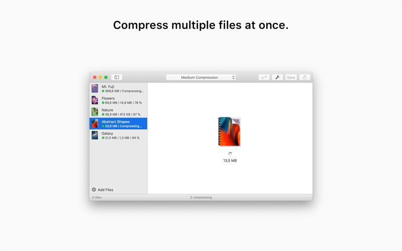 PDF Squeezer Screenshot
