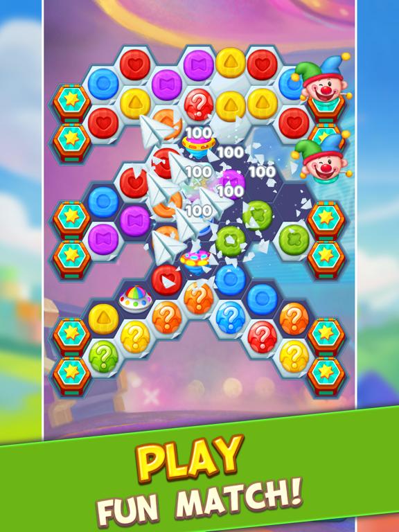 Toy Party: Match 3 Hexa Blast! screenshot 6