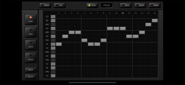 KORG iDS-10 Screenshot