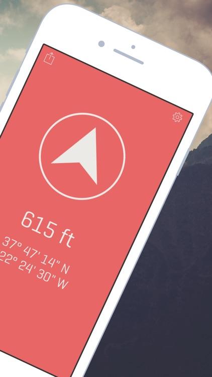 Alti - Altimeter & Compass
