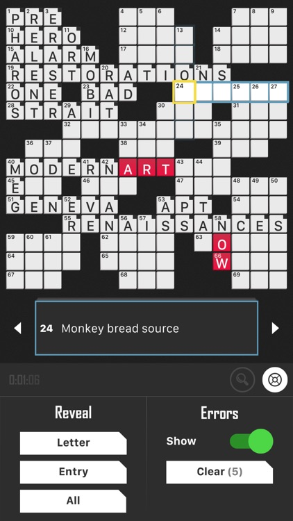 Crossword Puzzle Redstone screenshot-7