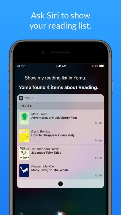 Yomu EBook Reader screenshot-7