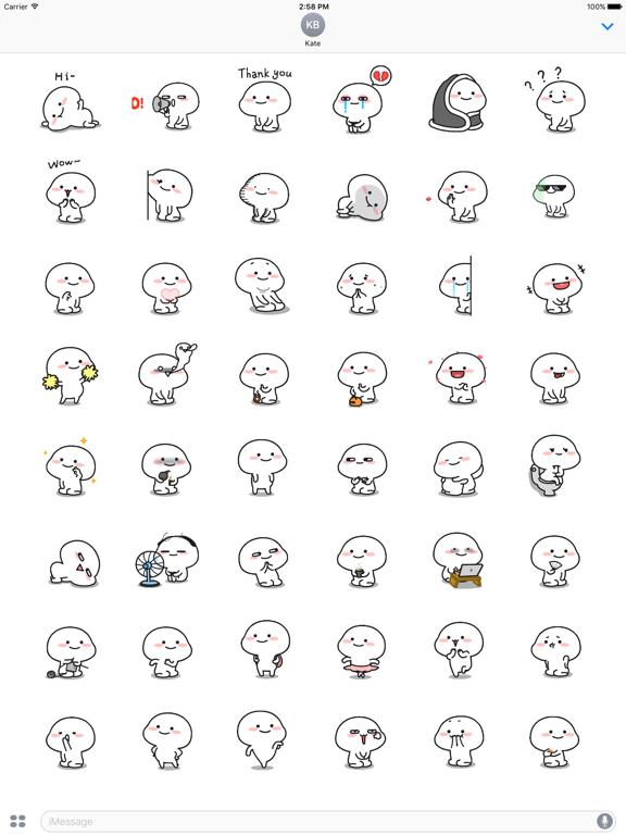 Animated Little Monk Sticker screenshot 6