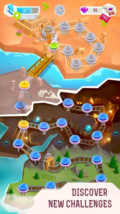 Chasecraft - Epic Running Game screenshot-3