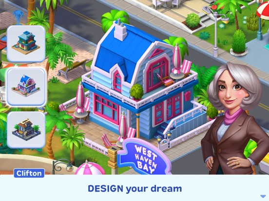 Match Town Makeover: Design screenshot 9