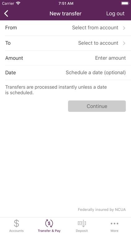 UMassFive Mobile Banking screenshot-4
