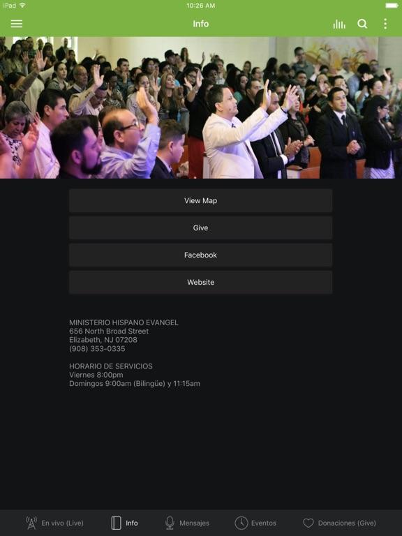 Ministerio Evangel screenshot 6