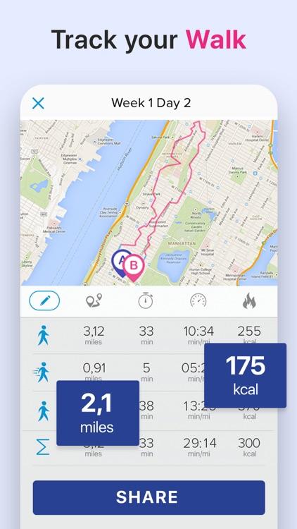 Weight Loss Walking by Verv screenshot-8