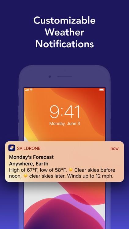 Weather: Saildrone Forecast screenshot-4
