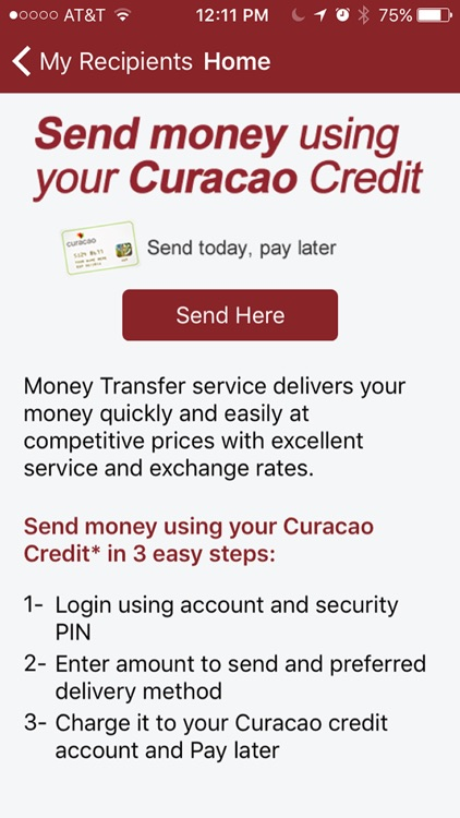 Curacao Make Payment