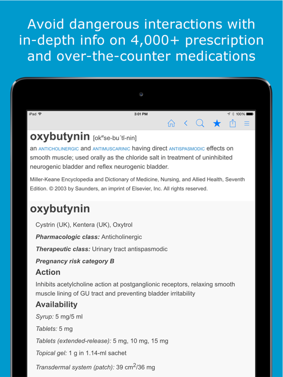 Nursing Dictionary by Farlex screenshot
