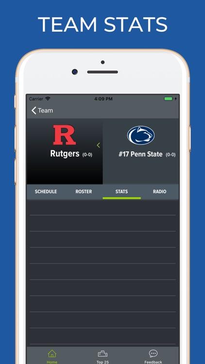 Rutgers Football Schedules screenshot-3