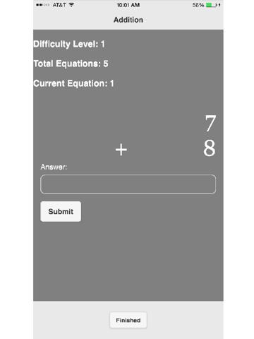 Simple Math Tutor - náhled