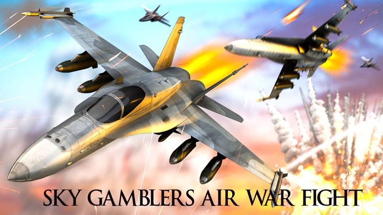 Sky Gamblers Air War Fight screenshot-3