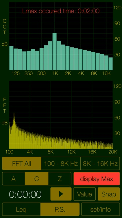 Sound Level Analyzer screenshot-4
