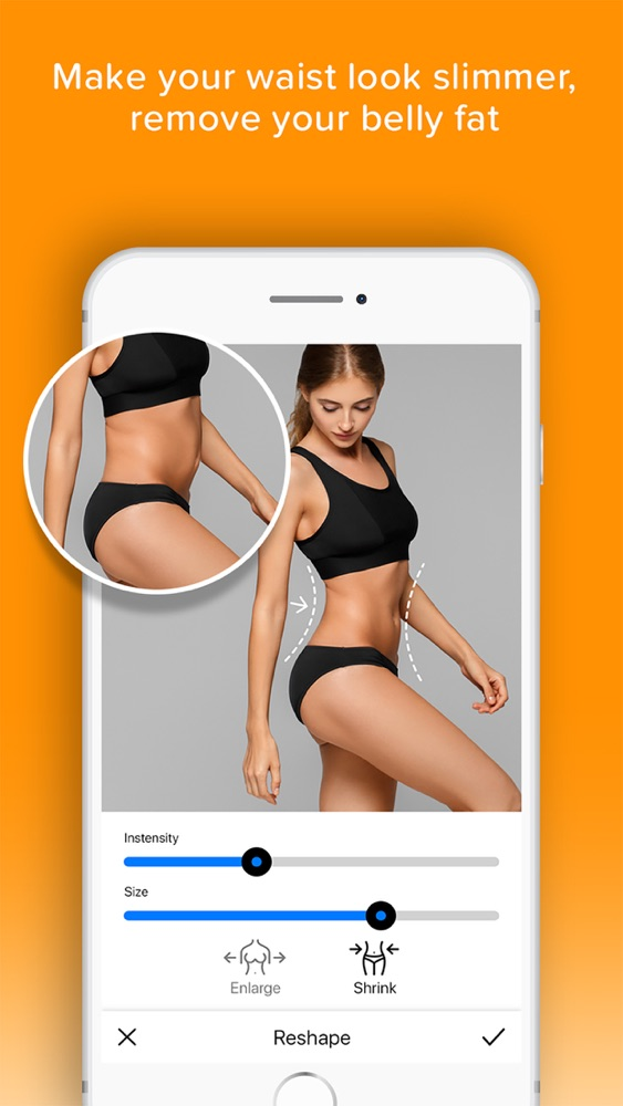 Photolift - Face & Body Editor App for iPhone - Free