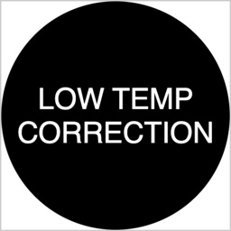 Low temp alt correction