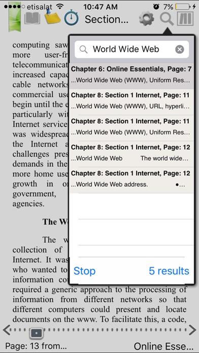 ICDL e-bookScreenshot of 4