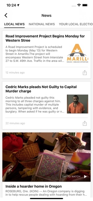 KAMR LOCAL4 NEWS on the App Store