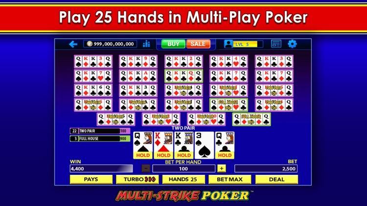 Multi-Strike Poker™ screenshot-7