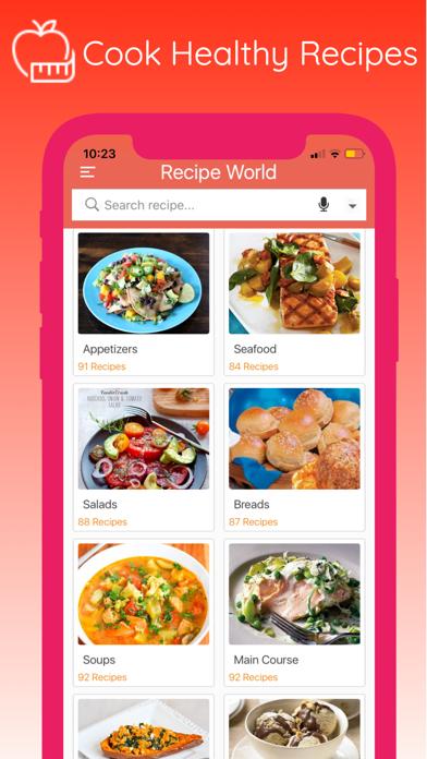 Easy Cooking - Healthy Recipes screenshot three