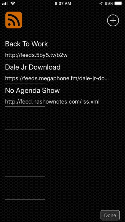 Watch Kast Audio Player screenshot-3