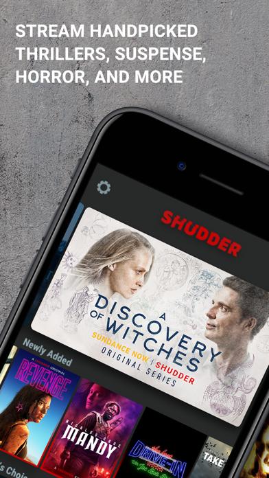 Shudder: Horror & Thrillers app image