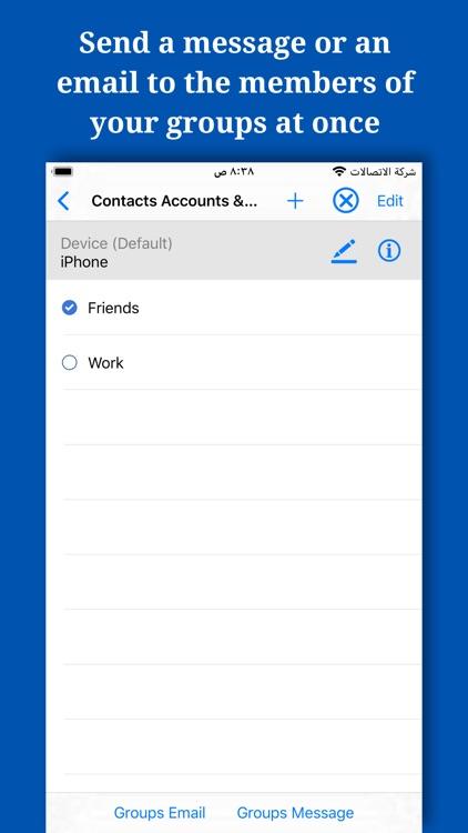 Backup And Manage Contacts screenshot-3